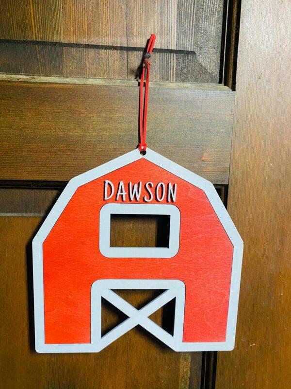 Farm Door Hanger