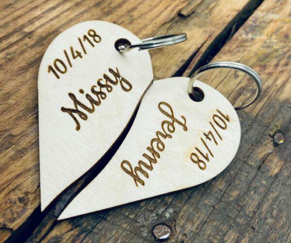 Loving Heart Keychain