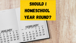 should i homeschool year round